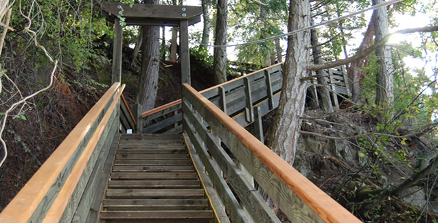 Beach Access Stairs By Brockman Builders Inc